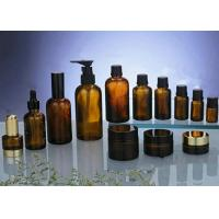 Buy cheap 15ml, 20ml, 30ml Comestic Amber Glass Bottles With DIN 18mm Amber Drop, USP, EP from wholesalers