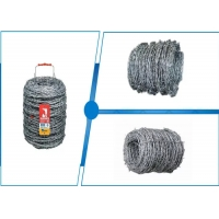 Buy cheap Decorative 2.8mm Electric Fence Razor Barbed Wire CBT-10 Galvanized from wholesalers