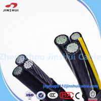 Buy cheap High Voltage Power Transmission Cable , 0.6 / 1KV Aerial Bunched Conductor ASTM B-232 from wholesalers