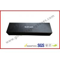 Buy cheap Stamping Foil Magnetic Boxes Electronics Packaging With Matt Black Paint from wholesalers