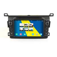 Buy cheap 2DIN HD android car dvd android 4.4.4 HD 1024*600 car DVD GPS for Toyota RAV4 2013 with WiFi Mirror link from wholesalers