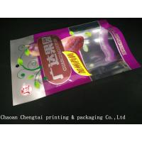 Buy cheap Nuts Packaging Dried Fruit Bags 0 - 9 Colors With Clear Window QS Certification from wholesalers