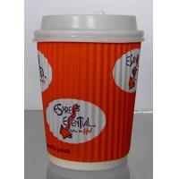 Buy cheap Food Grade Single Wall Paper Cups With Double Side PE Coated Color Optional product