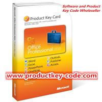 Buy cheap Microsoft Office 2010 Product Key Card, Discount Microsoft Office Professional 2010 PKC 1 User from wholesalers
