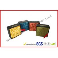 Buy cheap Artistry Design Luxury Gift Packaging Boxes With Traditional Brocade Silk from wholesalers