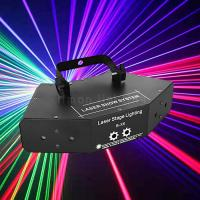 Buy cheap 6 Eyes 360 degree Large Angle Scan Rotation Mini Scanning Pattern Laser Stage Lighting from wholesalers
