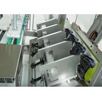Buy cheap Automatic Chemicals Case Packer Machine with Carton Box Erecting and Sealing Station from wholesalers