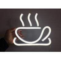 Buy cheap RF Remote Control Neon Coffee Sign Decorative Kitchen Cup Logo product