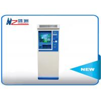 Buy cheap 42 inch touch powder coated ticket vending kiosk for tourist attractions from wholesalers