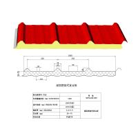 Buy cheap Exterior Decorative Insulation Wall Panels / PUR sandwich decorative board from wholesalers