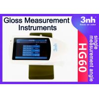 Buy cheap Bangladesh USB Cable Gloss Measurement Instruments HG60 60 ° Angle With GQC6 Software from wholesalers