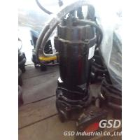 Buy cheap Single Stage Vertical Non Clog Sewage Pump , Water Semi Open Impeller Centrifugal Pumps from wholesalers