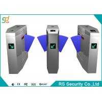 Buy cheap Club Smart Automatic Turnstiles With Alarm Sound LED Count Display Interface from wholesalers