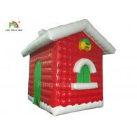 Buy cheap Red Inflatable Christmas House For Festival Decoration One Year Warranty from wholesalers
