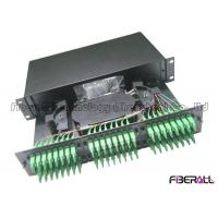 Buy cheap Slide Out Drawer 2U Fiber Patch Panel , 96 Port Fiber Patch Panel For LC Duplex from wholesalers