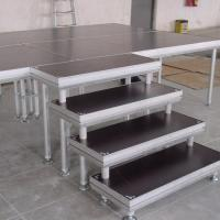 Buy cheap Alloy Assembly Portable Stage Platforms For Sound System And Dj Equipments from wholesalers