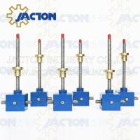 Buy cheap 30ton screw jack 40hp Electric Screw Jack High precision aluminum screw jack SWL series worm gear screw lifter from wholesalers