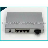 Buy cheap 10 Gigabit Ethernet Media Converter Copper To Fiber Optic Open SFP+ Managed from wholesalers