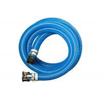 Buy cheap PVC Helix Suction Hose , Suction And Discharge Hose Assembly With Connector from wholesalers