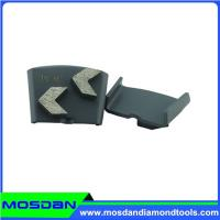 Buy cheap Double Arrow Segment HTC Concrete Grinding Shoe for Floor Polishing from wholesalers