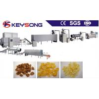 Buy cheap Sweet Corn Processing Equipment , Breakfast Cereal Making Machine Low Energy Consumption from wholesalers