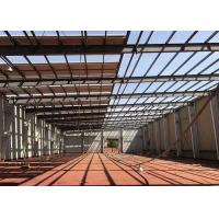 Buy cheap Prefabricated Industrial Steel Structure Warehouse Gable Frame Light Metal Building from wholesalers