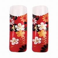 Buy cheap Full cover natural holiday fashion artificial nail, various designs are available from wholesalers