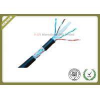 Buy cheap 8 Conductors Network Fiber Cable , Cat6 SFTP Cable With 0.58mm Diameter Pass Fluke Test from wholesalers