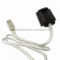 Buy cheap Dual SATA Plug Connector to IDE, USB, PATA Adapter Cable Assembly for Hard Drive, Laptop from wholesalers