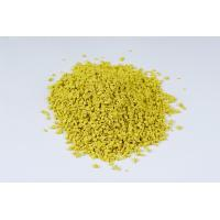 Buy cheap Yellow Min 35 Mesh Crumb Rubber Anti Vibration Fragmented Noise Reduction product