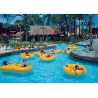 Buy cheap Hotels Commercial Lazy River Water Park Custom Style For Outdoor Family Spray from wholesalers