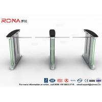 Buy cheap Access Control Electronic Barrier Gates , Turnstile Flap Barrier With CE Approved product