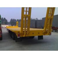 Buy cheap Payload Low Bed Semi Trailer Trucks 40T Optional For Transport Customized from wholesalers