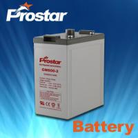 Buy cheap Prostar battery 2v 600ah from wholesalers