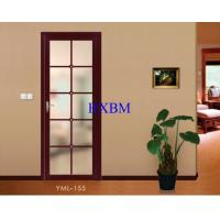 Buy cheap Integrated Larch Wood Aluminum Clad Wood French Doors 15mm Thick Aluminum Cladding from wholesalers