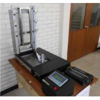 Buy cheap Vertical Flammability Testing Equipment , Textile Testing Instrument With LCD Touch Screen Control from wholesalers