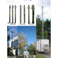 Buy cheap 12m Pneumatic Telescopic Mast Telecommunication Tower from wholesalers