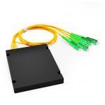 Buy cheap 1x4 PLC Fiber Splitter, Standard ABS Module, SC/APC SM from wholesalers