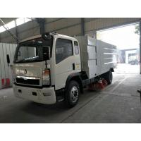 China High Efficient Street Cleaner Truck , 4x2 Dust Collecting Road Sweeping Machine on sale