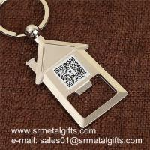Buy cheap House shaped metal bottle opener key holder, house shape beer opener key holders from wholesalers
