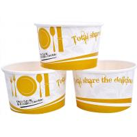 Buy cheap 3oz 5oz Branded Ice Cream Cups / Bowls For Ice Cream Shop , Eco - Freindly Ink from wholesalers