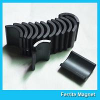 Buy cheap Y30 Grade Ferite Arc Magnets For Motors Ferite Ceramic Motor Arc Magnets product