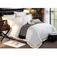 Buy cheap 60S Hotel Bed Linen With Duvet Cover / Bed Sheet / Pillow Case from wholesalers