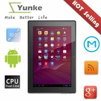 Buy cheap Cheap 2013 new 10.1 tablet pc bluetooth android 4 0 RK3066 Dual camara five point touch screen from wholesalers