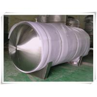 Buy cheap Horizontal Replacement Air Compressor Receiver Tanks Mirror Polishing 8000 Liter from wholesalers