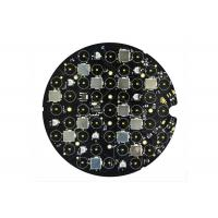 Buy cheap Vehicle Light Round Custom LED PCB Board , Aluminum Printed Circuit Board Assembly from wholesalers