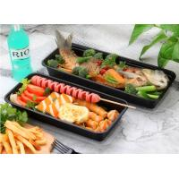Buy cheap 1350ml~3800ml Longer PP Food Trays For Carrying Fish / Barbecue from wholesalers