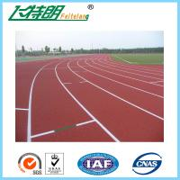 All Weather Track Surface Prefabricated Flooring Rubber Gym Floor Outdoor