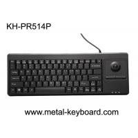 Buy cheap USB / PS/2 Interface Plastic Industrial Computer Keyboard with FCC, BSMI Certification from wholesalers