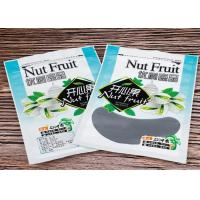 Buy cheap Pistachio Nut Custom Food Packaging Bags / Heat Seal Zip Pouch With Gravure Printing from wholesalers